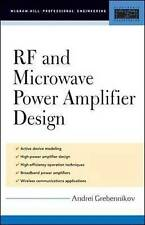 RF and Microwave Power Amplifier Design by Andrei, Grebennikov