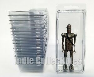 MOTU BLISTER CASE LOT OF 20 Action Figure Display Protective Clamshell XX-LARGE