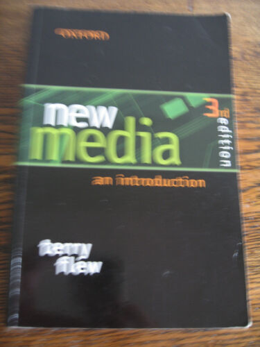 1 of 1 - NEW MEDIA -AN INTRODUCTION 3RD EDITION TERRY FLEW