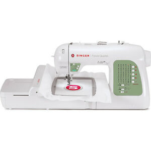 Singer Sewing Co Singer SEQS 6000 Futura Sewing Embroidery Machine