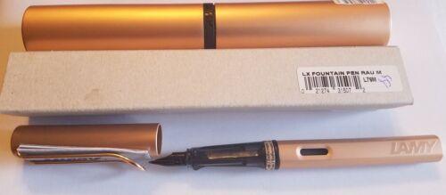 Medium L76M LAMY Lx Rau – Fountain Pen Rose Gold