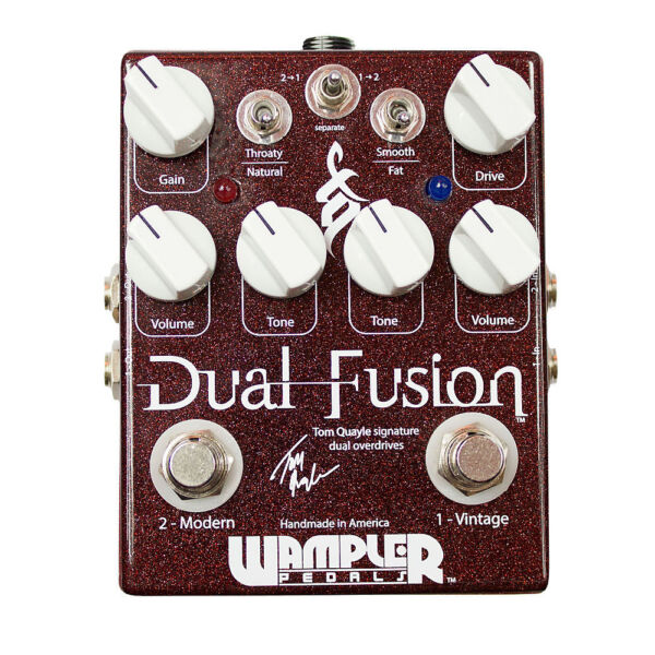 wampler pedals dual fusion overdrive guitar effect pedal for sale online ebay. Black Bedroom Furniture Sets. Home Design Ideas