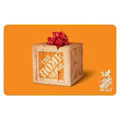 $50 The Home Depot Gift Card - Mail Delivery