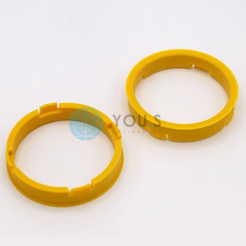 2 x anelli di centraggio anello di distanza per cerchi in lega s52 73,1-65,1 mm CMS DBV