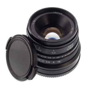 25mm F/1.8 Manual Focus Prime Lens for Sony E mount A7 A7R A7S A7II III ILCE-7 614993414425