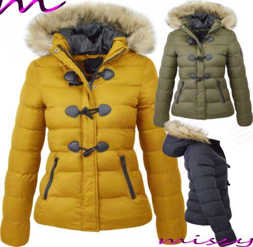 Nouveau Haut Plus Taille Matelassé Manteau Hiver Gilet Col en Fourrure Veste à capuche taille 24