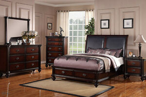 Image Is Loading New 4pc Melbourne Rich Cherry Finish Wood Storage
