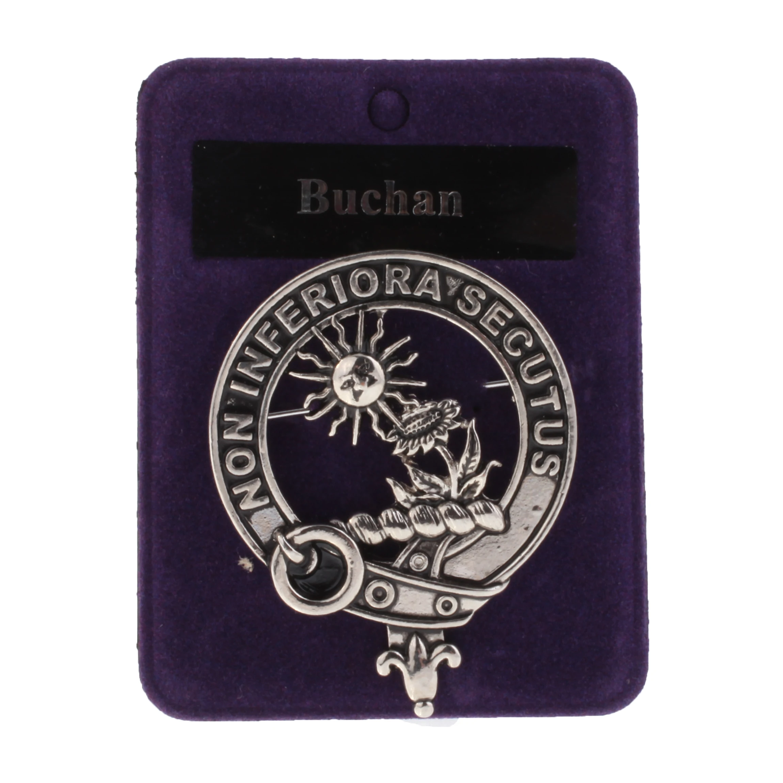 Traditional Clans Of Scotland Clan Badge Buchan