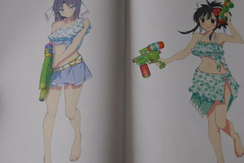 JAPAN Senran Kagura Art Book Peach Beach Splash Official Illustrations