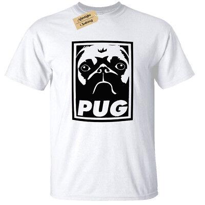 PugBoys Kids T-Shirt Tee Age 3-13