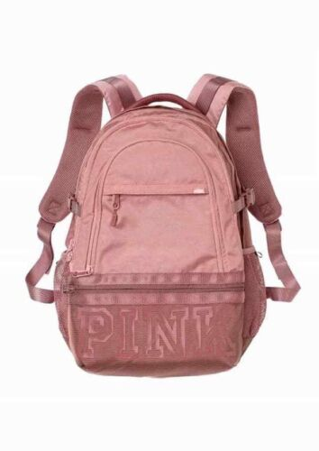 Victoria para portátil '' Black Multi Pink Mochila Collegiate Grey 17 de Secret Nuevo FwrTZnqF
