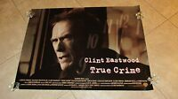True Crime Movie Poster Clint Eastwood Poster