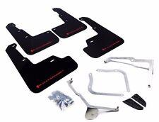 Rally Armor UR Black Mud Flap w/ Red Logo For 15+ Subaru WRX/STi (Sedan Only)