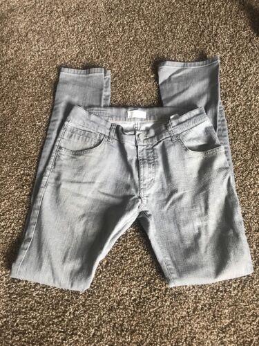 Jeans 33 32 X Misura Zara grigio donna 8ZqrO8