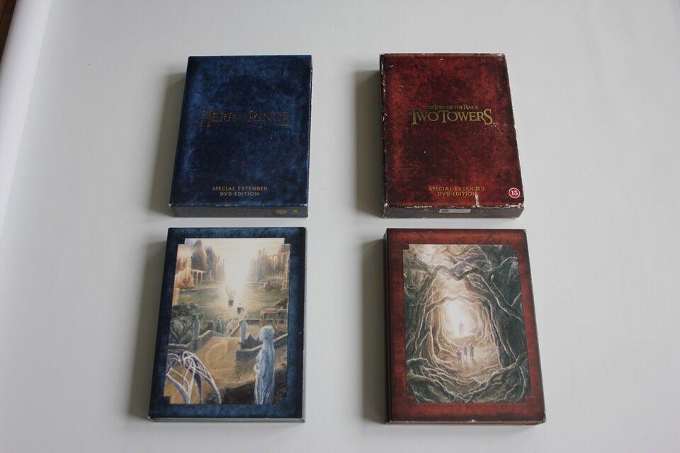 Ringenes Herre 2004 Boks, DVD, eventyr