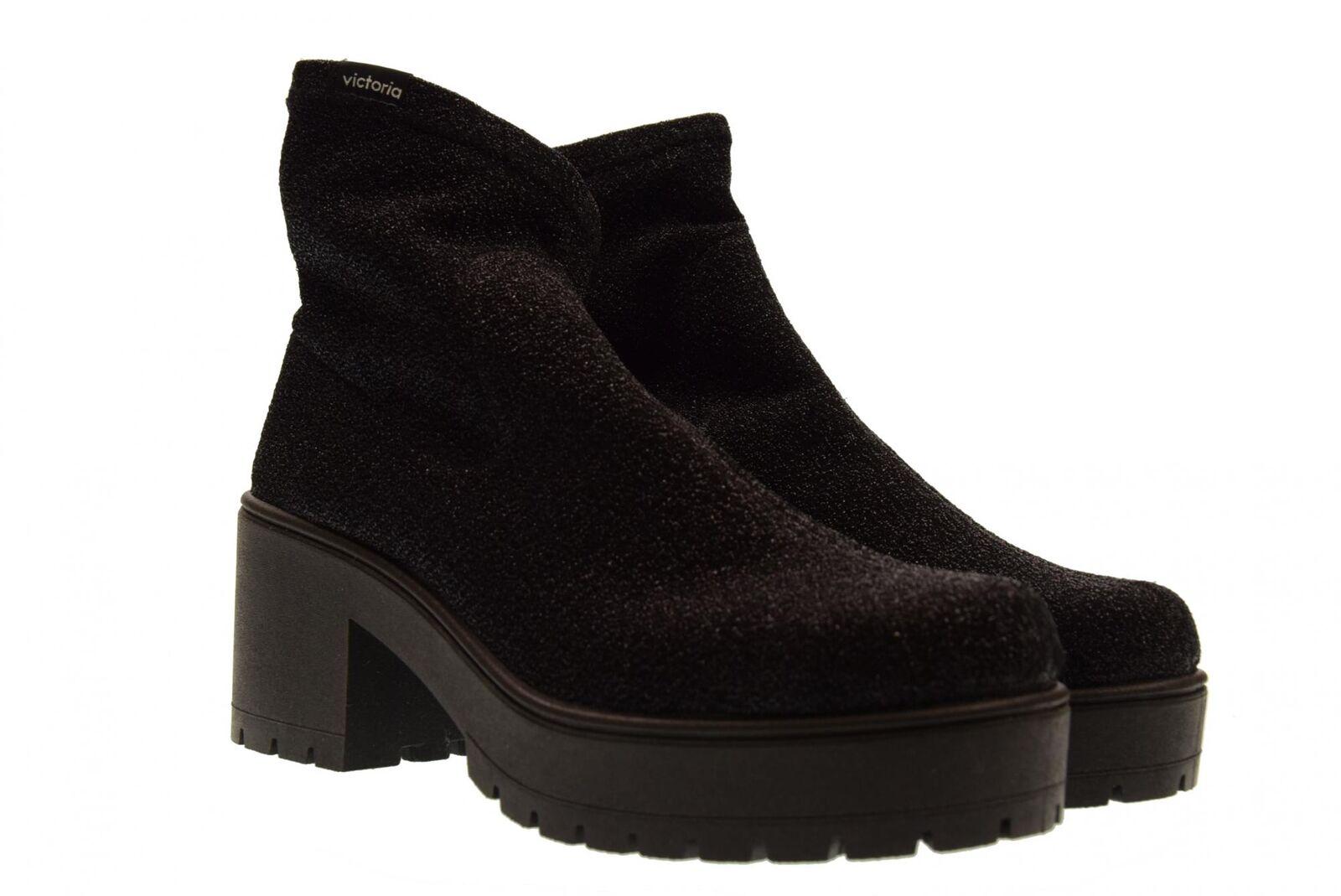 Victoria scarpe donna tronchetti con tacco 095124 A18