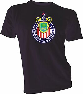 Image is loading CLUB-DEPORTIVO-GUADALAJARA-CHIVAS-Mexico-FMF-Soccer-Black- 5e72261c72d46