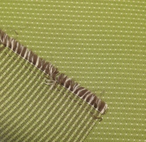 OUTDURA SHIMMER LODEN GREEN WOVEN GEOMETRIC OUTDOOR INDOOR FABRIC BY THE YARD