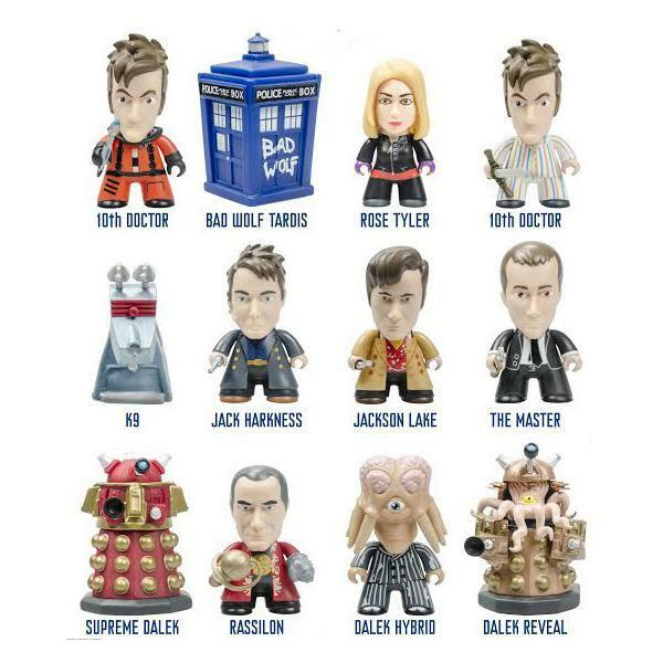 TITAN DOCTOR WHO 3  VINYL FIGURE - CHOOSE YOUR CHARACTER - WAVE 5 GALLIFREY