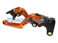 Pro CNC Breve Arancio leve Freno Frizione per KTM Duke 200 Duke 125 2012-2013