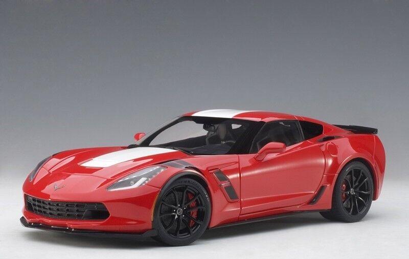 AUTOART 71274 - 1 18 CHEVROLET Corvette c7 grand sport-rouge blanc réparti