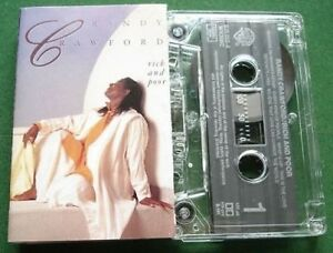 Randy Crawford Rich and Poor Abs Excellent Condition Cassette Tape - TESTED