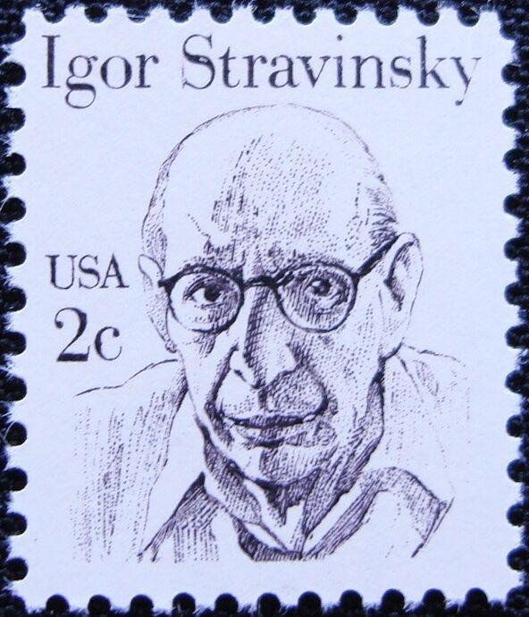 1982 2c Igor Fyodorovich Stravinsky, Composer Scott 184