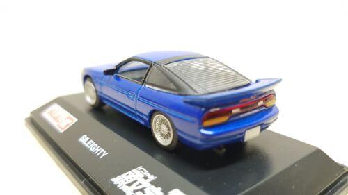 1//72 Real-X Initial D NISSAN SILEIGHTY Silvia 180sx MAKO SATO diecast car model