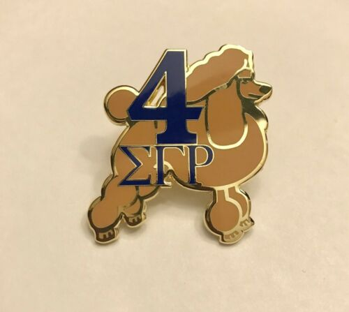 Sigma Gamma Rho Line Number Lapel Pin numbers 1-7 available--Specify #