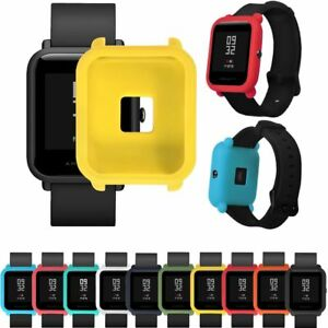 Hot-TPU-Protection-Silicone-Full-Case-Cover-For-Huami-Amazfit-Bip-Youth-Watch
