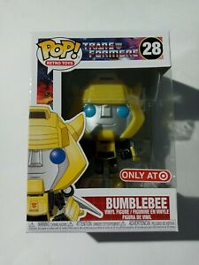 -FUN52244-FUNKO RS Bumblebee with Wings US Exclusive Pop Transformers Vinyl