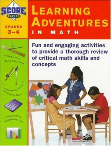 KAPLAN LEARNING ADVENTURES IN MATH: GRADES 3-4 SCORE!, Kaplan,, Tripp, Alan Pap