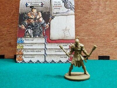 Zombicide Green Horde RYAN JOHN Kickstarter Exclusive Plastic Mini /& Card