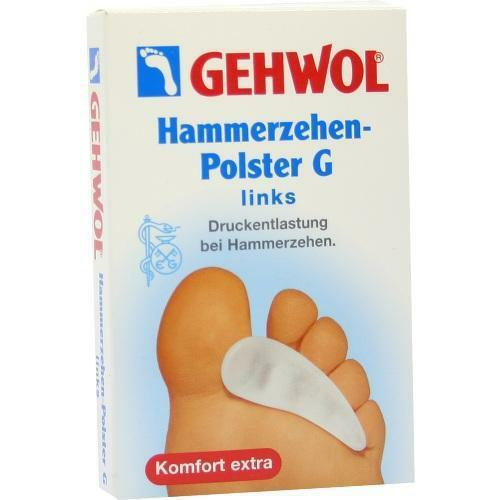 GEHWOL Polymer Gel Hammerzehenpolster G links 1St PZN 3444246