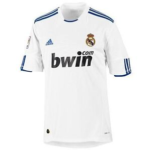 sports shoes a730b 08a97 Details about ADIDAS REAL MADRID HOME JERSEY 2010/11.