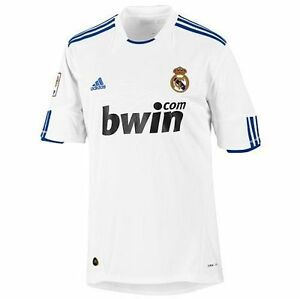 Image is loading ADIDAS-REAL-MADRID-HOME-JERSEY-2010-11 14749d7a0