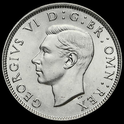 1944 George VI Silver Two Shilling Coin / Florin, G/EF #2