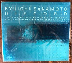 Details about RYUICHI SAKAMOTO Discord CD Like New/SEALED! DJ Spooky, David  Byrne, Patti Smith