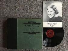 "KIRSTEN FLAGSTAD Flagstad In Song VICTOR M-342 5x10"" 78rpm Soprano Opera Set"