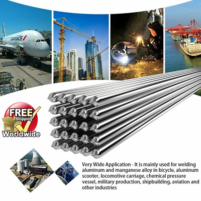 10//50pcs Super Melt Welding Rods Electrodes Silver Alumifix Flux Cored Low Temp