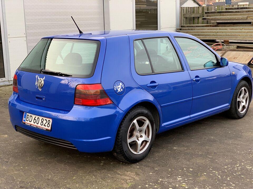 VW Golf IV, 1,8 Highline aut., Benzin