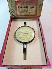 Vintage Lufkin 2 34 Inch Dial Indicator 3 B25 125 Nos Usa