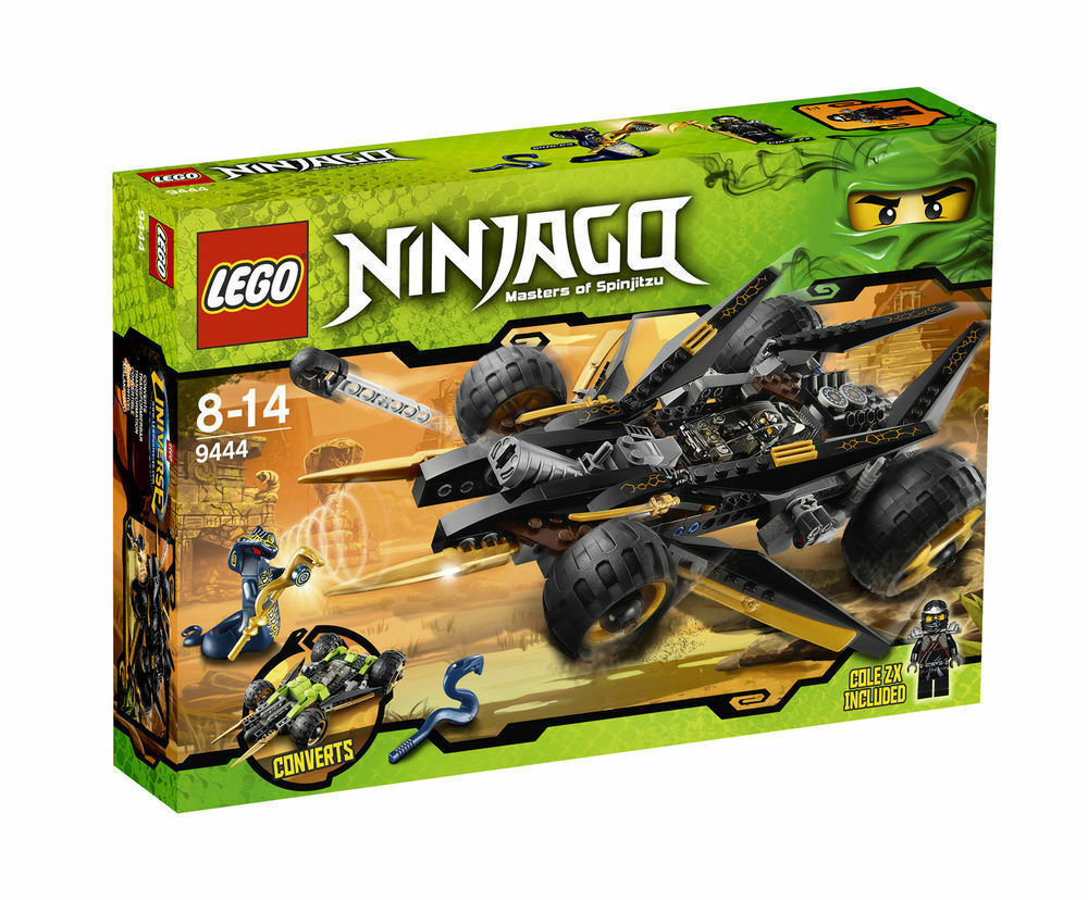 LEGO NINJAGO Cole's Tread Assault (9444) brand new in box (rare)