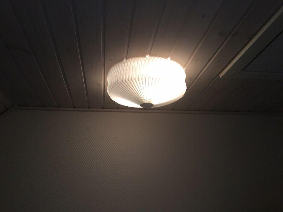 Anden loftslampe, Le klint – dba.dk – Køb og Salg af Nyt og