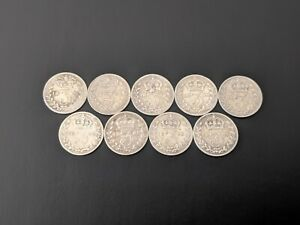 QUEEN-VICTORIA-STERLING-SILVER-THREEPENCE-COINS-1877-1897-PICK-YOUR-YEAR