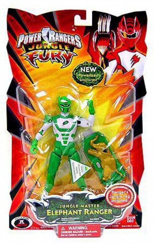 diseños exclusivos Power Power Power Rangers Jungle Fury selva maestro Elefante Ranger muñeco  Disfruta de un 50% de descuento.