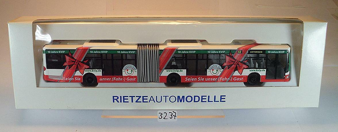 Rietze 1 87 Mercedes Benz Citaro O 530 G KVIP Linie 63 Uetersen OVP  3237