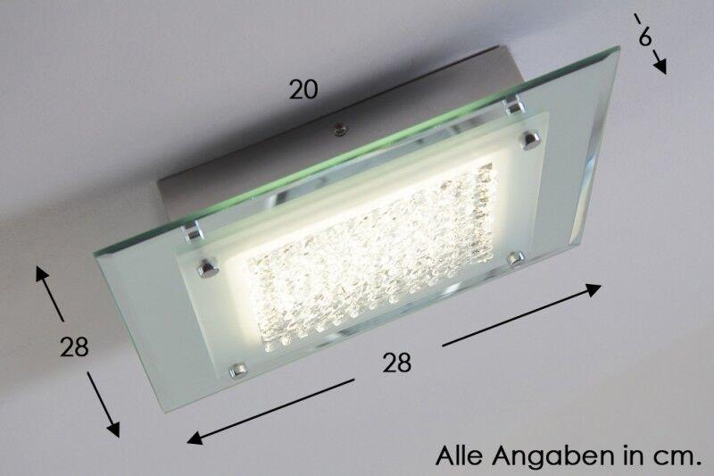 LED Deckenleuchte Design Lampe Deckenlampe Leuchte Deckenstrahler mit Kristallen