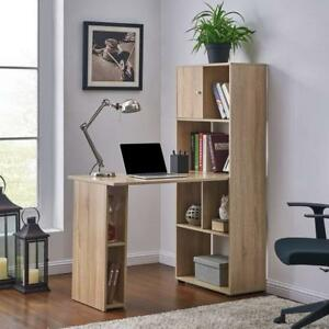 Image Is Loading Oak Compact Computer Desk Mini Home Office Black