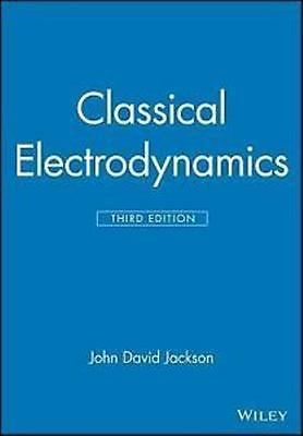 4DAYS DELIVERY - Classical Electrodynamics by Jackson, 3RD INTERNATIONAL EDITION